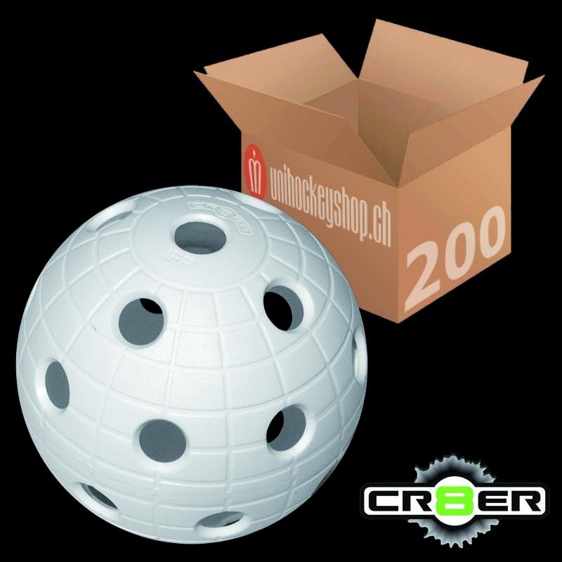 unihoc Matchball CR8ER weiss (200er Pack)