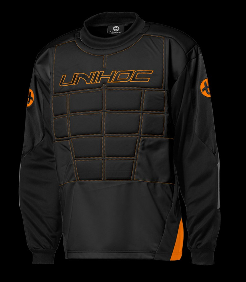 unihoc Torhüterpullover Blocker Senior schwarz/orange
