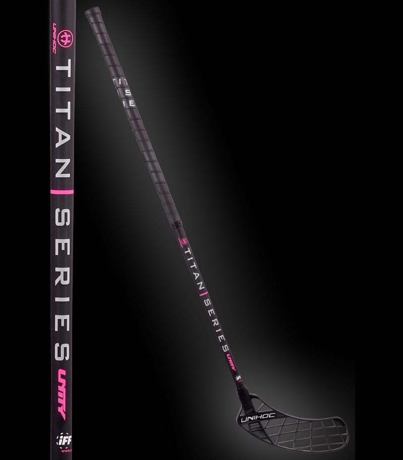 Teststock unihoc UNITY Titan Toplight 26 black