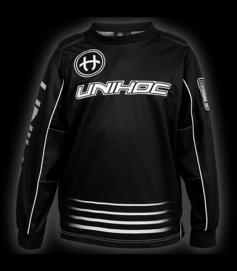 unihoc Goaliepullover Inferno Junior schwarz