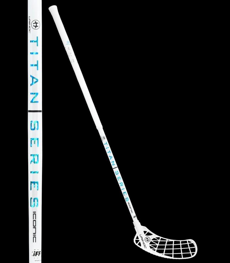 unihoc ICONIC TITAN Straight Edge 29 white