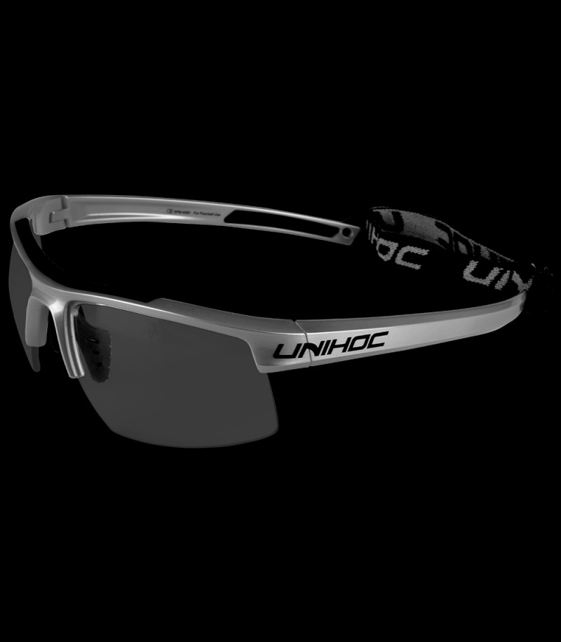 unihoc Sportbrille Energy senior graphite