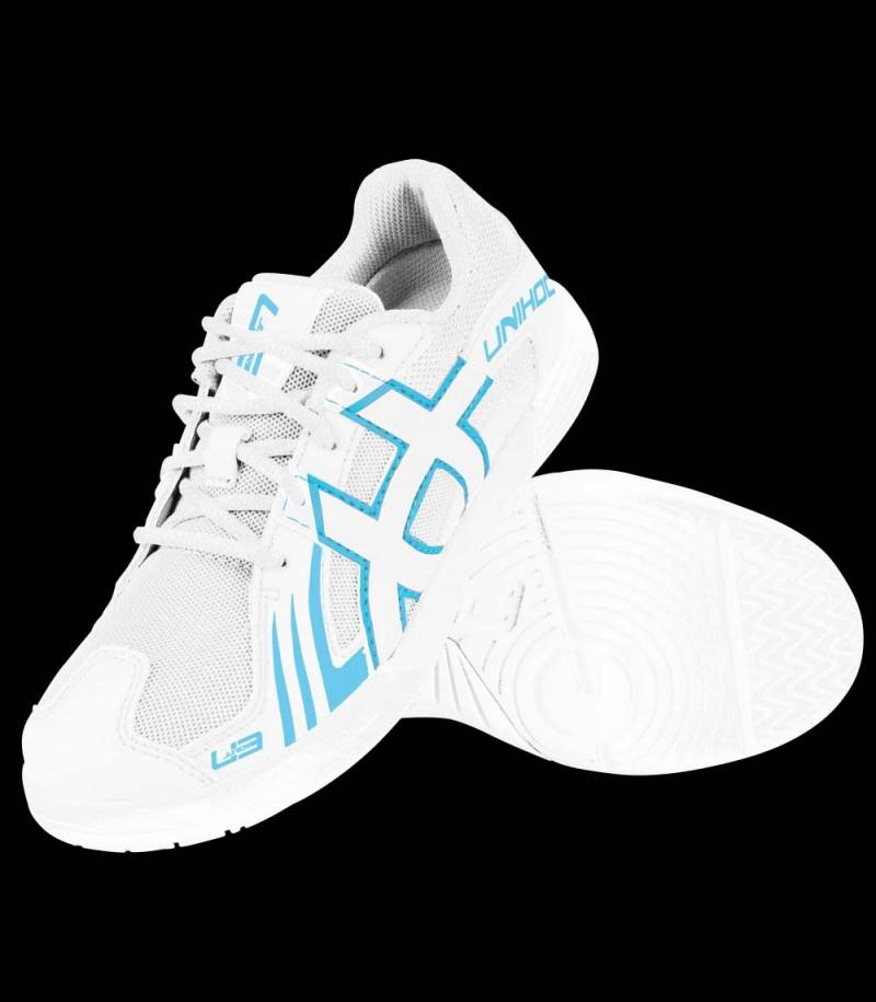 unihoc U3 Junior white/blue
