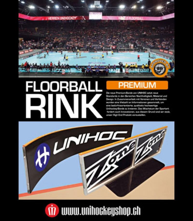 unihockeyshop_unihoc Spielbanden Premium Grossfeld schwarz