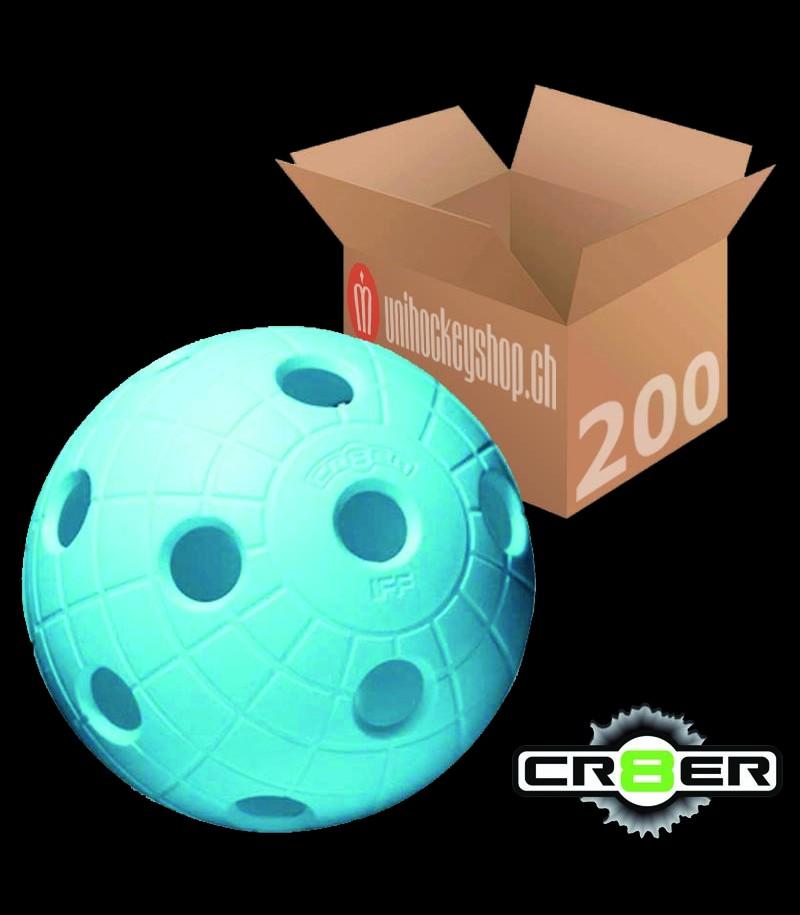 unihoc Matchball CR8ER hellblau (200er Pack)