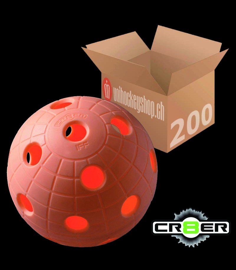 unihoc Matchball CR8ER peach (200er Pack)