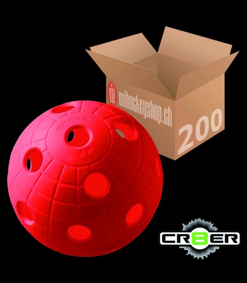 unihoc Matchball CR8ER rot (200er Pack)
