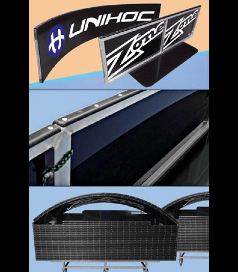 unihockeyshop_unihoc Spielbanden Basic Grossfeld schwarz